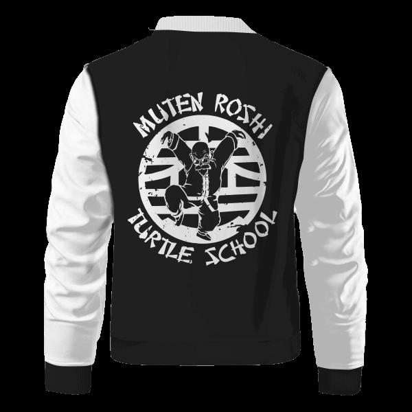 master roshi turtle school bomber jacket 215388 - Anime Jacket