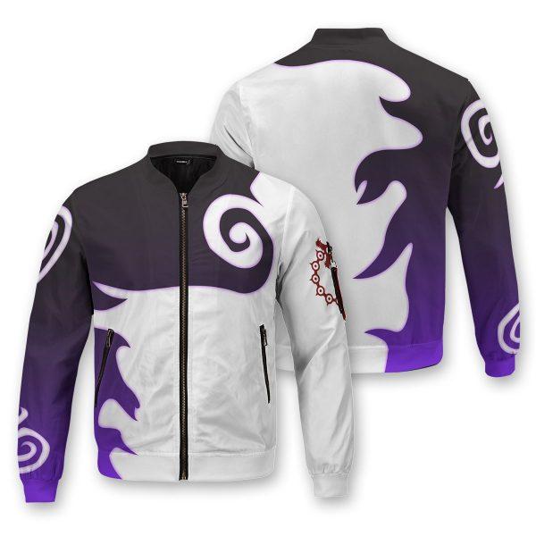 meliodas demon mark bomber jacket 123228 - Anime Jacket