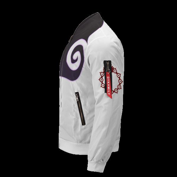 meliodas demon mark bomber jacket 229525 - Anime Jacket