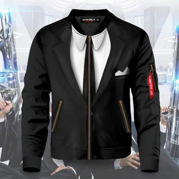 men in black suit bomber jacket 381021 - Anime Jacket