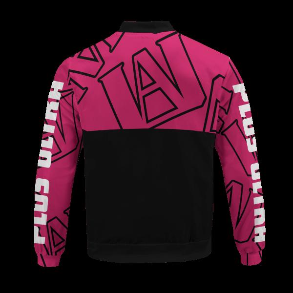 mha uraraka bomber jacket 234012 - Anime Jacket