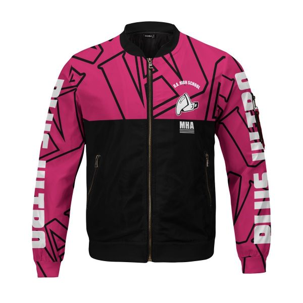 mha uraraka bomber jacket 689741 - Anime Jacket