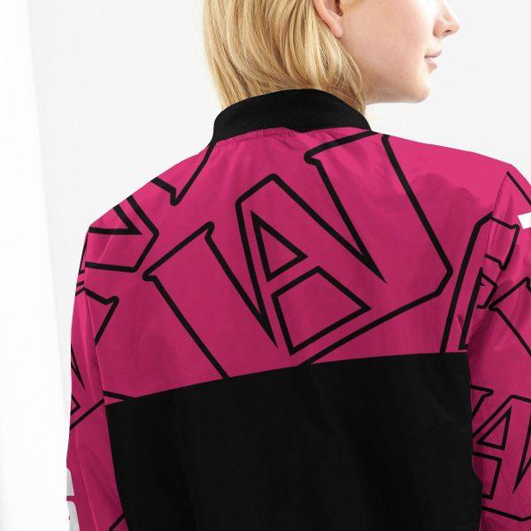 mha uraraka bomber jacket 724400 - Anime Jacket