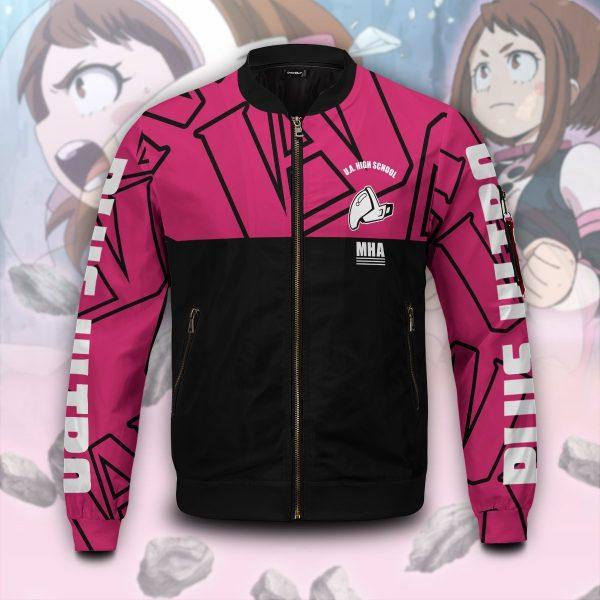 mha uraraka bomber jacket 857816 - Anime Jacket