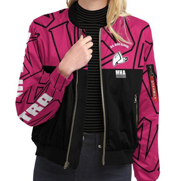 mha uraraka bomber jacket 976793 - Anime Jacket