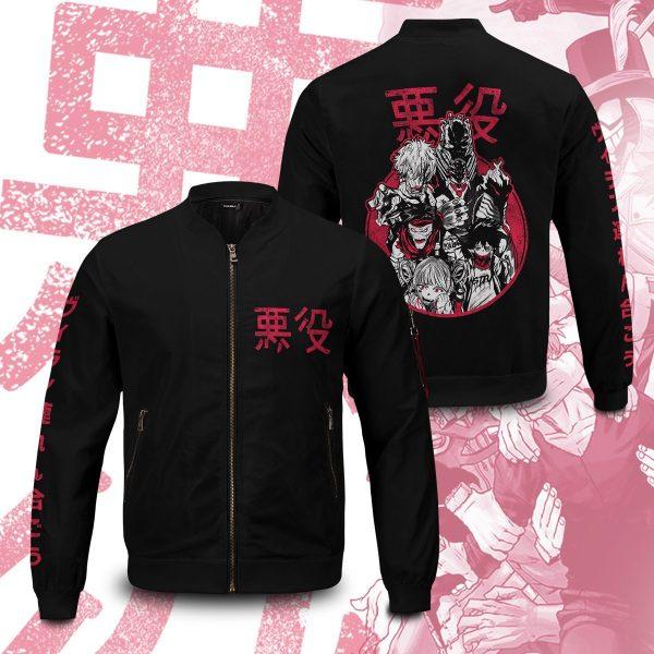 mha villains bomber jacket 252314 - Anime Jacket
