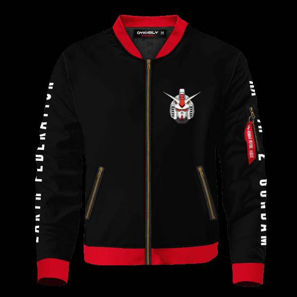 mobile suit gundam bomber jacket 454181 - Anime Jacket
