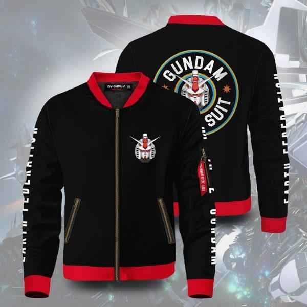 mobile suit gundam bomber jacket 913051 - Anime Jacket