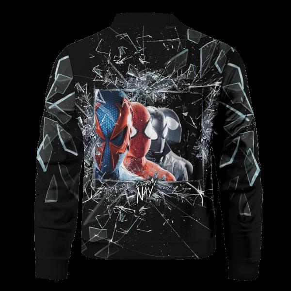 multiverse spider man signed bomber jacket 223397 - Anime Jacket