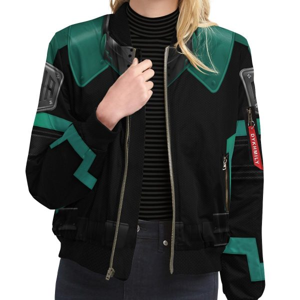 musketeer deku bomber jacket 593409 - Anime Jacket