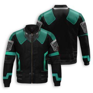 musketeer deku bomber jacket 994382 - Anime Jacket