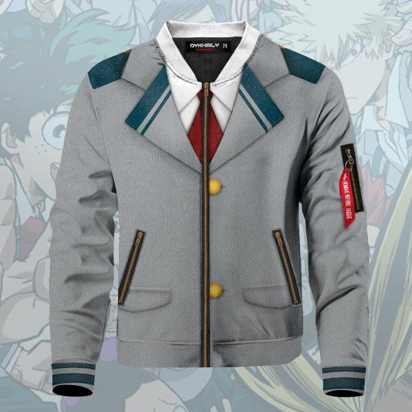 my hero academia school uniform bomber jacket 274705 - Anime Jacket