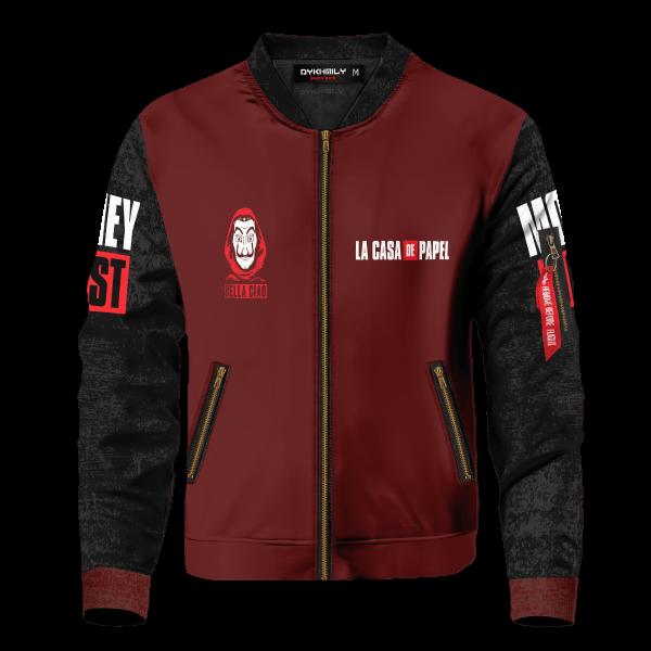 nairobi bomber jacket 290372 - Anime Jacket