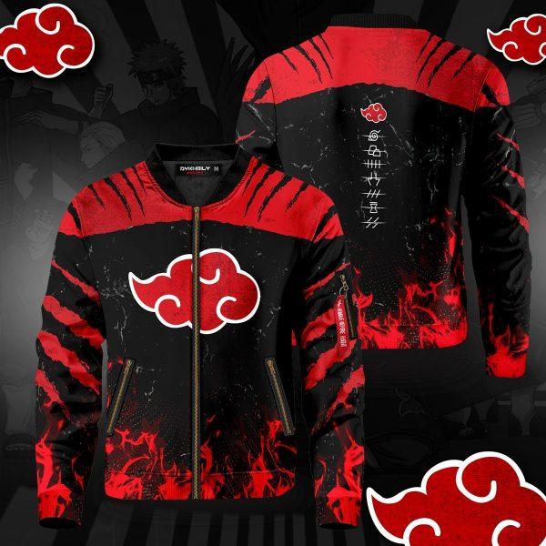 naruto akatsuki pride bomber jacket 364810 - Anime Jacket