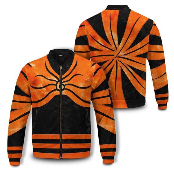 naruto full baryon mode bomber jacket 231685 - Anime Jacket