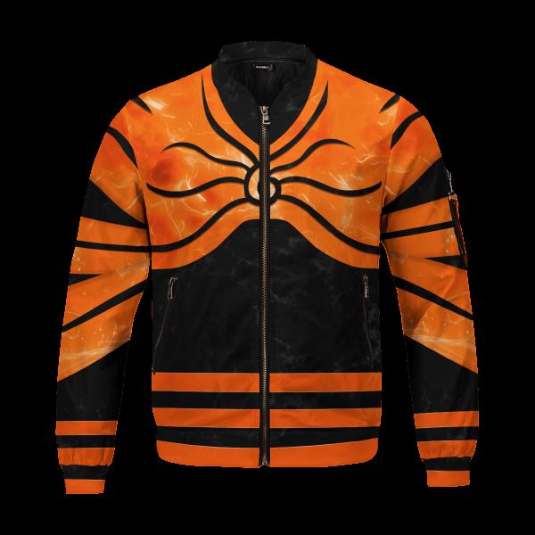 naruto full baryon mode bomber jacket 383649 - Anime Jacket