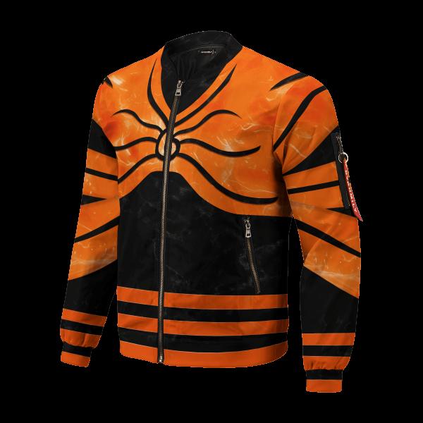 naruto full baryon mode bomber jacket 537540 - Anime Jacket