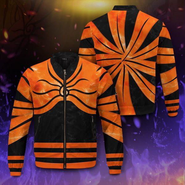 naruto full baryon mode bomber jacket 962634 - Anime Jacket