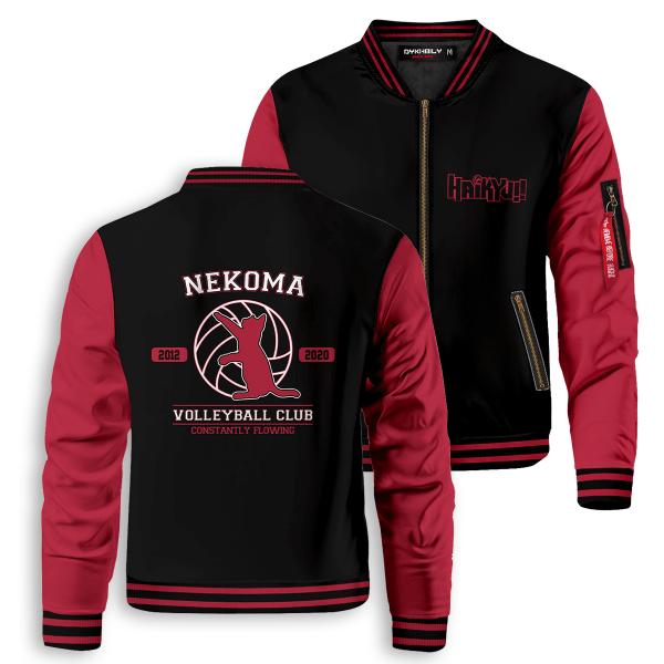 nekoma constantly flowing bomber jacket 874920 - Anime Jacket