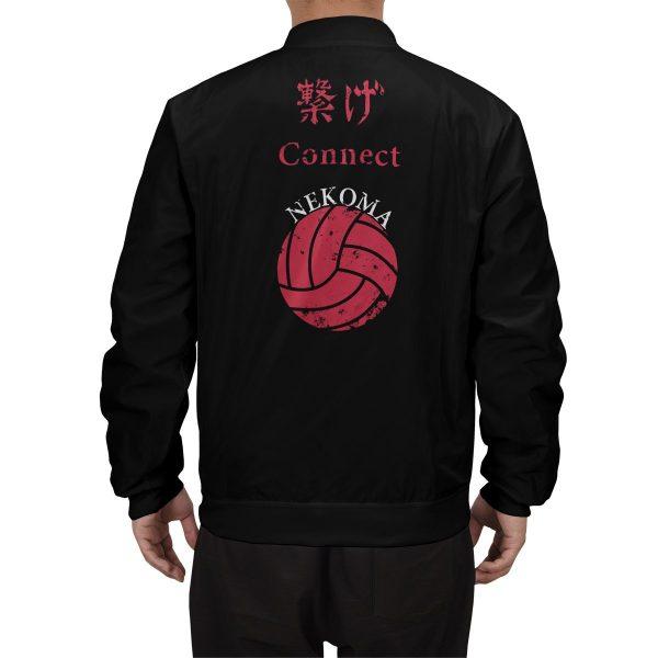 nekoma rally bomber jacket 211272 - Anime Jacket