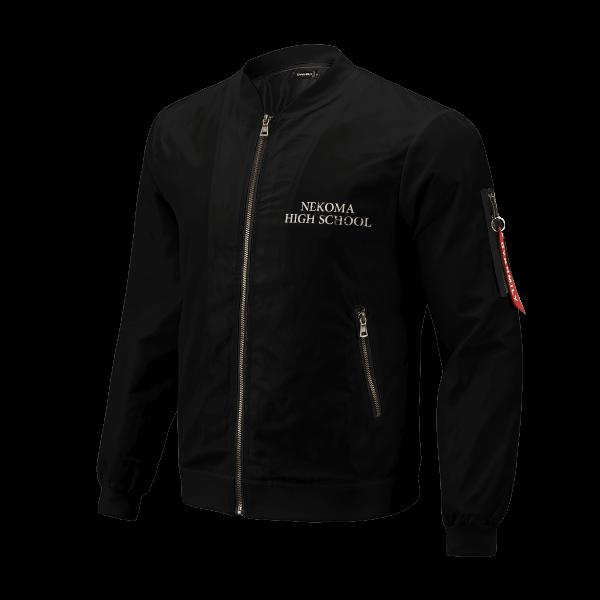 nekoma rally bomber jacket 275806 - Anime Jacket