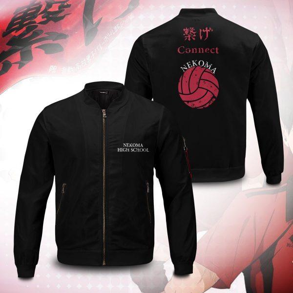 nekoma rally bomber jacket 528257 - Anime Jacket