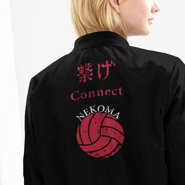 nekoma rally bomber jacket 651895 - Anime Jacket