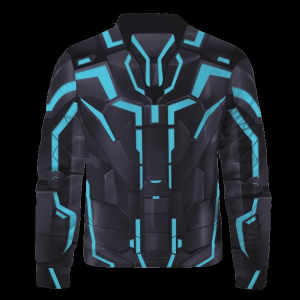 neon tech iron man bomber jacket 523344 - Anime Jacket