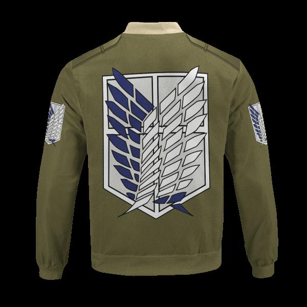 new survey corps uniform bomber jacket 373274 - Anime Jacket