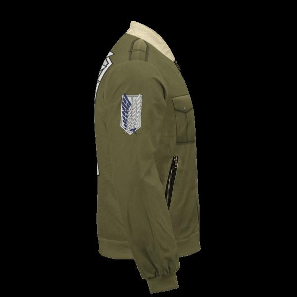new survey corps uniform bomber jacket 418441 - Anime Jacket