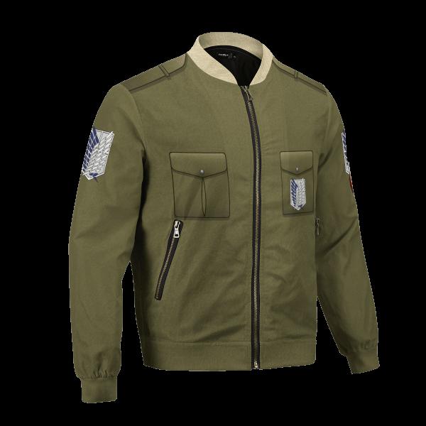 new survey corps uniform bomber jacket 739723 - Anime Jacket