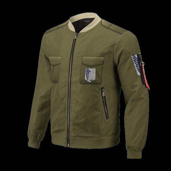 new survey corps uniform bomber jacket 910785 - Anime Jacket