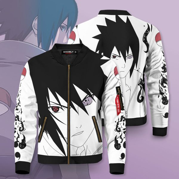ninja sasuke bomber jacket 825859 - Anime Jacket