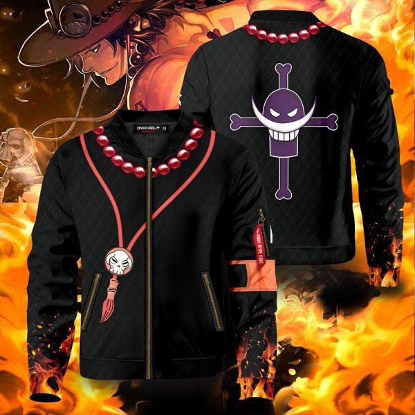 one piece ace bomber jacket 178446 - Anime Jacket