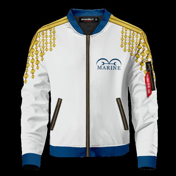 one piece marine bomber jacket 538980 - Anime Jacket
