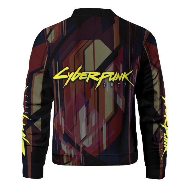 oni cyberpunk 2077 bomber jacket 310299 - Anime Jacket