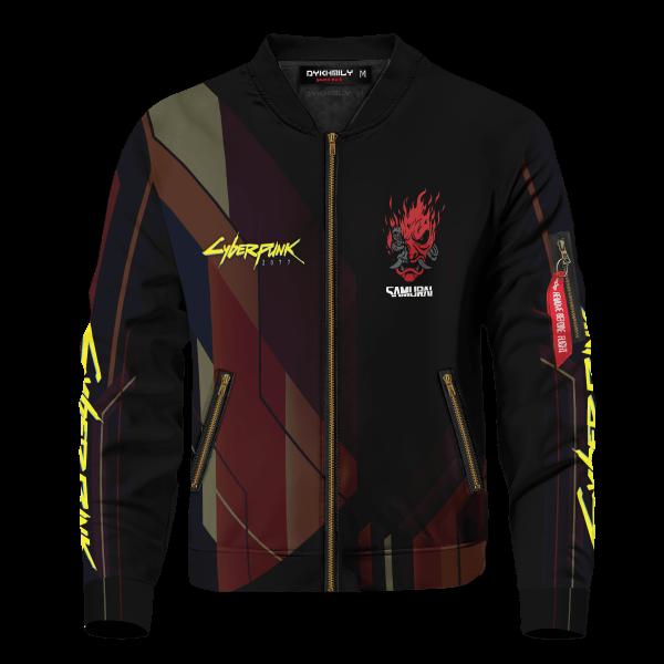 oni cyberpunk 2077 bomber jacket 524545 - Anime Jacket