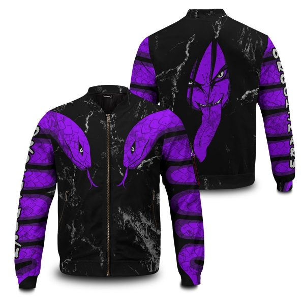 orochimaru bomber jacket 261321 - Anime Jacket