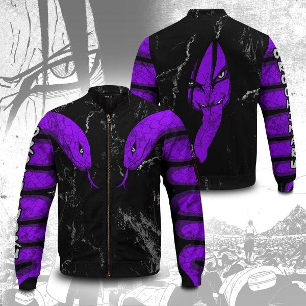 orochimaru bomber jacket 410074 - Anime Jacket