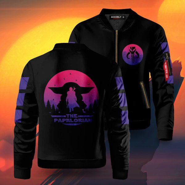 papalorian bomber jacket 525253 - Anime Jacket