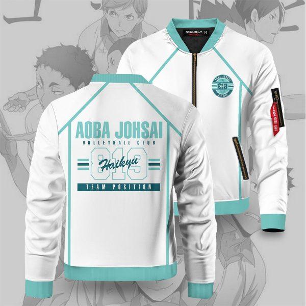 personalized 819 aoba johsai bomber jacket 109116 - Anime Jacket