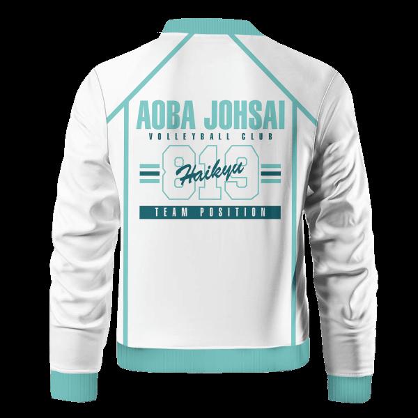 personalized 819 aoba johsai bomber jacket 706812 - Anime Jacket