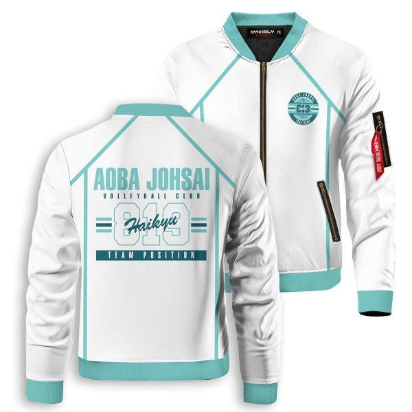 personalized 819 aoba johsai bomber jacket 741193 - Anime Jacket