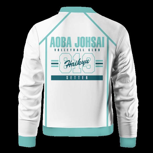 personalized 819 aoba johsai bomber jacket 937105 - Anime Jacket