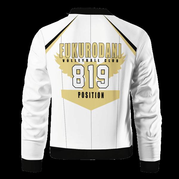 personalized 819 fukurodani bomber jacket 310015 - Anime Jacket