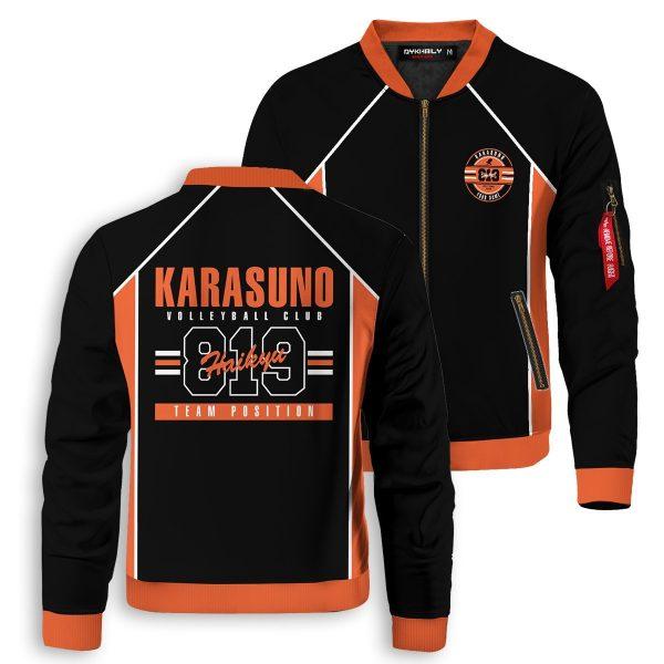 personalized 819 karasuno bomber jacket 100920 - Anime Jacket