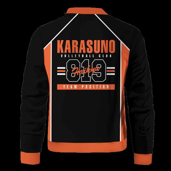 personalized 819 karasuno bomber jacket 746502 - Anime Jacket