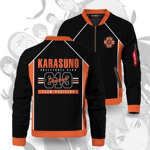 personalized 819 karasuno bomber jacket 991507 - Anime Jacket