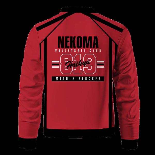 personalized 819 nekoma bomber jacket 573137 - Anime Jacket