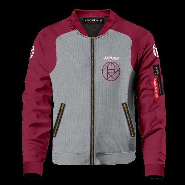 personalized akimichi clan bomber jacket 183403 - Anime Jacket
